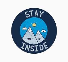 Stay Inside Sticker T-Shirt