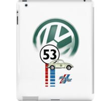 Herbie 53 THE LOVE BUG CAR VW iphone cased iPad Case/Skin