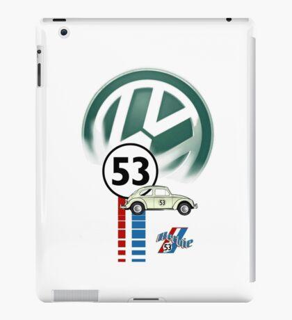 53 THE LOVE BUG CAR VW beatle iPad Case/Skin
