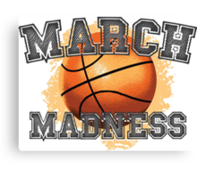 March Madness Canvas Print