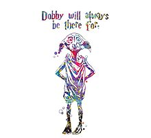 Dobby Quote Watercolor  by bittermoon