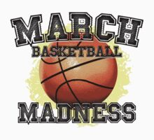 March Basketball Madness Kids Clothes