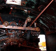 Old Locomotive Speed Controls for the Steam Engine    by Chuck Gardner