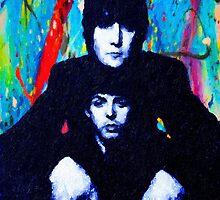 John & Paul Hands by John Farr