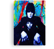 John & Paul Hands Canvas Print