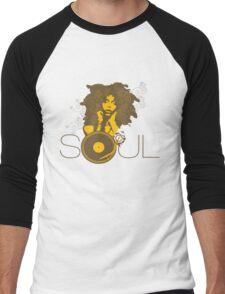 Soul Men's Baseball ¾ T-Shirt