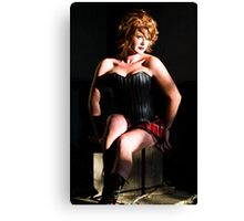 Model: Kellie Canvas Print