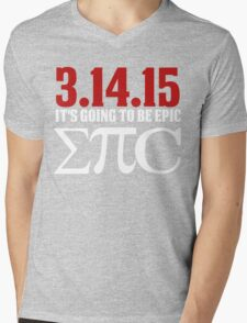 Epic Pi Day Mens V-Neck T-Shirt