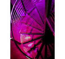 Purple Spirals Photographic Print