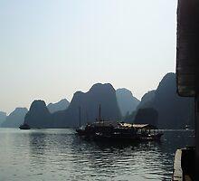 *Ha Long Bay* by Julie  Hamilton