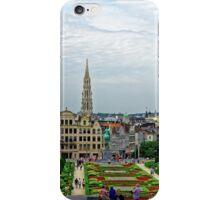 Mont des Arts, Brussels, Belgium iPhone Case/Skin