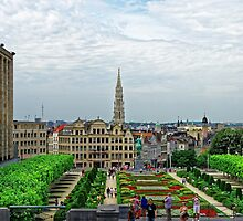 Mont des Arts, Brussels, Belgium by atomov