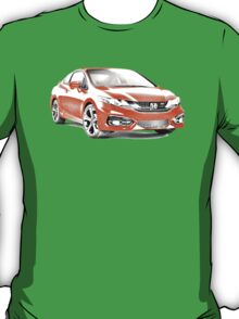 2014 Honda Civic SI Coupe T-Shirt