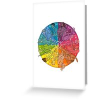 The Inner Circle Greeting Card