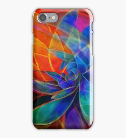 Desert Heat: Abstract Version psychedelic iPhone Case/Skin