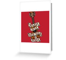 Always Play From your Heart Greeting Card