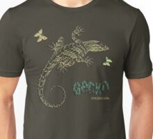 Gecko and butterfly Unisex T-Shirt