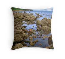 Down at the Rocks Throw Pillow