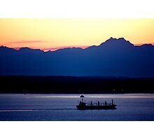 Seattle's Puget Sound Photographic Print