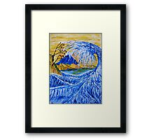 Mount Fuji from Satta Point Framed Print