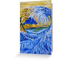Mount Fuji from Satta Point Greeting Card