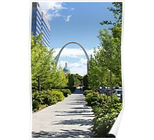 St Louis Arch 2 Poster