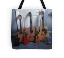 multiple musical instruments Tote Bag