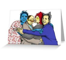 The Uncanny Seinfeld Greeting Card