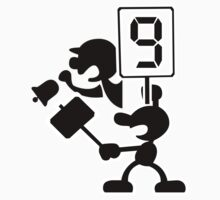 Super Smash Bros Mr Game and Watch Kids Clothes