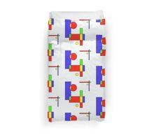Color Blocks Primary Duvet Cover