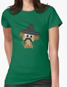 Monito Bandito Womens Fitted T-Shirt