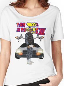 Fabolous Back To The Future III Women's Relaxed Fit T-Shirt