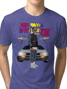 Fabolous Back To The Future III Tri-blend T-Shirt