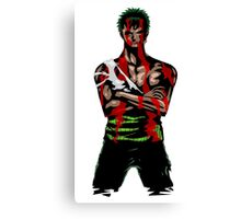 Zoro Tough Canvas Print