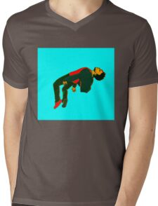 Sober Mens V-Neck T-Shirt