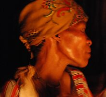 The Trance, Kalahari Healing Ceremony, Botswana, Africa by Adrian Paul