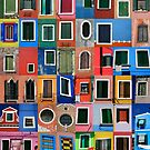 Island of Burano in front of Venice by david5962