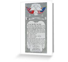 God's Top Ten Greeting Card