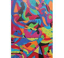 Abstract Crayola Photographic Print