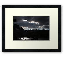Peace and Serenity in the Sierras Framed Print