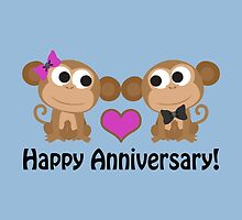 Happy Anniversary monkeys by Eggtooth