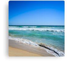 Beach. Canvas Print