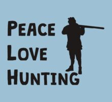 Peace Love Hunting Kids Clothes