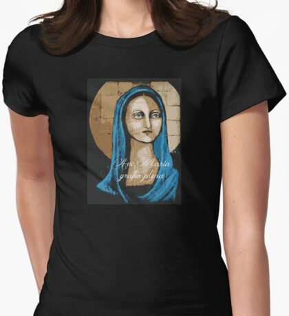 Ave Maria Womens Fitted T-Shirt