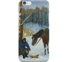 By The Fire iPhone Case/Skin