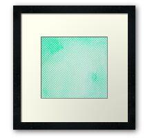 Green Mermaid Leggings Framed Print
