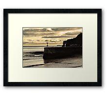 Boat Cove Jetty Framed Print