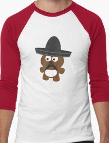 Osito Bandito Men's Baseball ¾ T-Shirt
