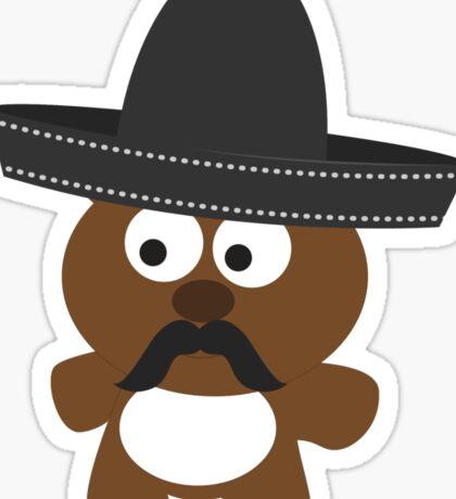 Osito Bandito Sticker