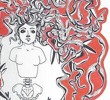 Girl and Spine, Pt. 2 by SPillustration